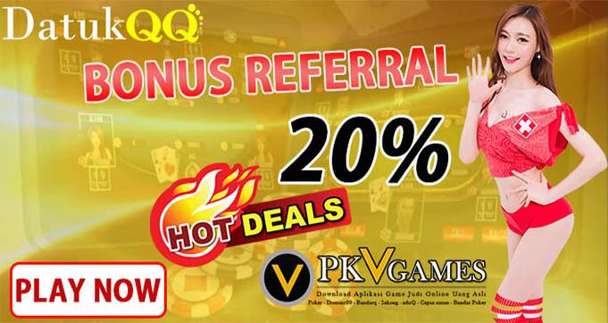 bonus judi poker qq online terbesar